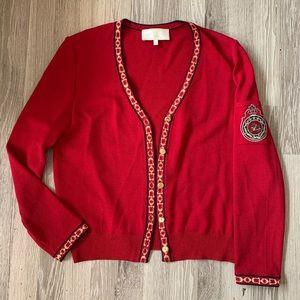 St.John Sport Marie Gray Equestrian horse sweater